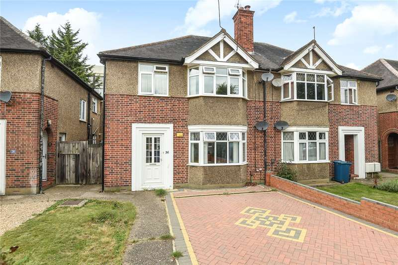 2 Bedrooms Maisonette Flat for sale in Beechcroft Avenue, Harrow, Middlesex, HA2