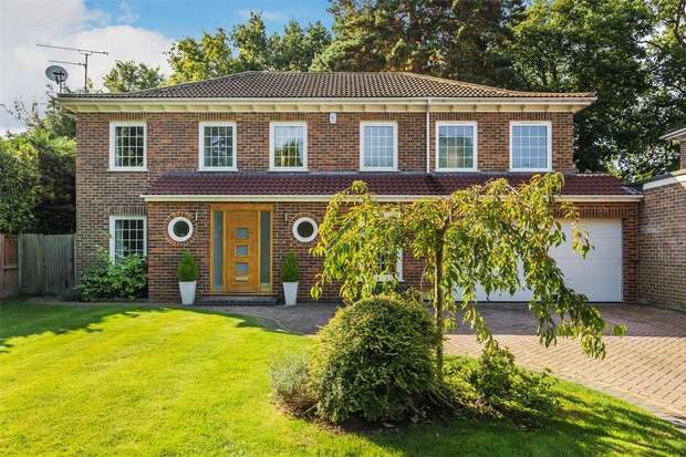 5 Bedrooms Detached House for sale in Woking, Surrey