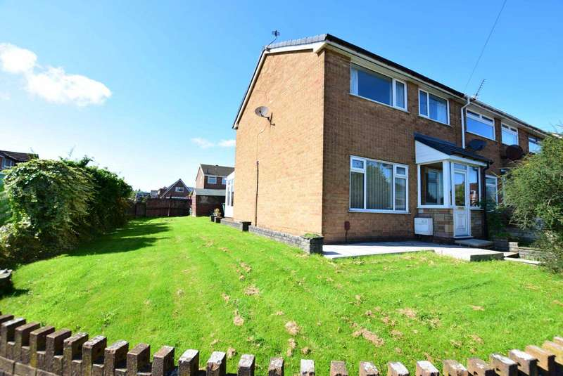 3 Bedrooms End Of Terrace House for sale in Princess Avenue, Wesham