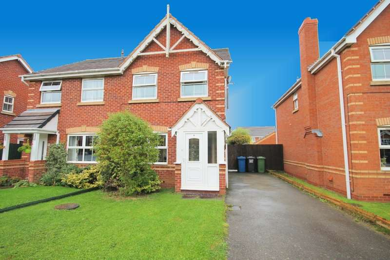3 Bedrooms Semi Detached House for sale in Skipness, Amington, Tamworth, B77 3QY