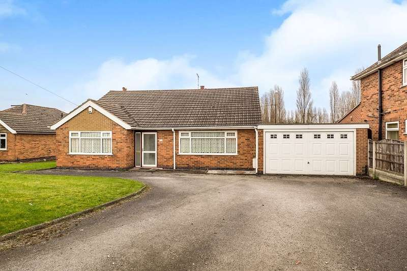 3 Bedrooms Detached Bungalow for sale in Main Street, Newthorpe, Nottingham, NG16