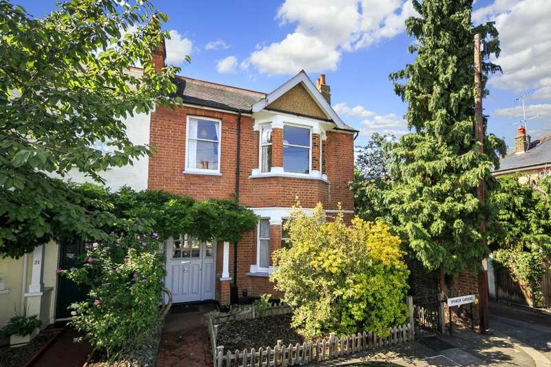 3 Bedrooms End Of Terrace House for sale in Spencer Gardens, East Sheen, SW14