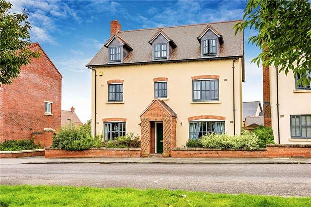5 Bedrooms Detached House for sale in 29 Pepper Mill, Lawley Village, Telford, Shropshire