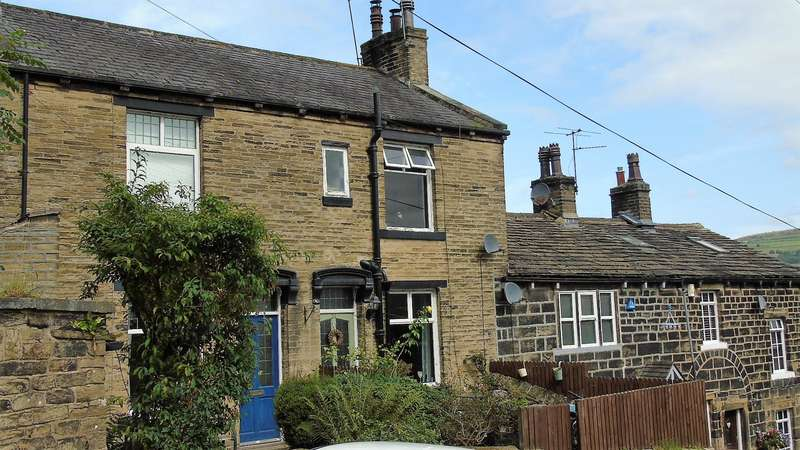 2 Bedrooms Terraced House for sale in Blackwood Hall, Blackwood Hall Lane, Halifax, HX2