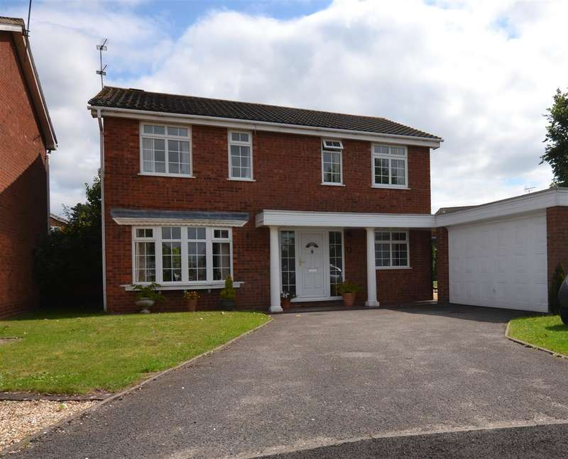 4 Bedrooms Detached House for sale in Hilcote Hollow, Stafford