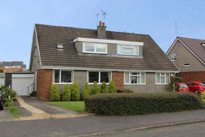 3 Bedrooms Semi Detached House for sale in Penzance Way, Moodiesburn