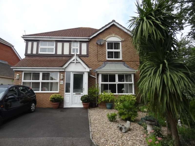 4 Bedrooms Detached House for sale in Glas Y Llwyn, Barry
