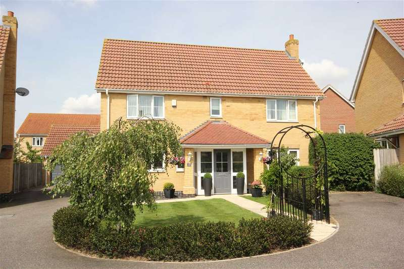 4 Bedrooms Detached House for sale in Windmill Close, Great Cornard CO10 0FL