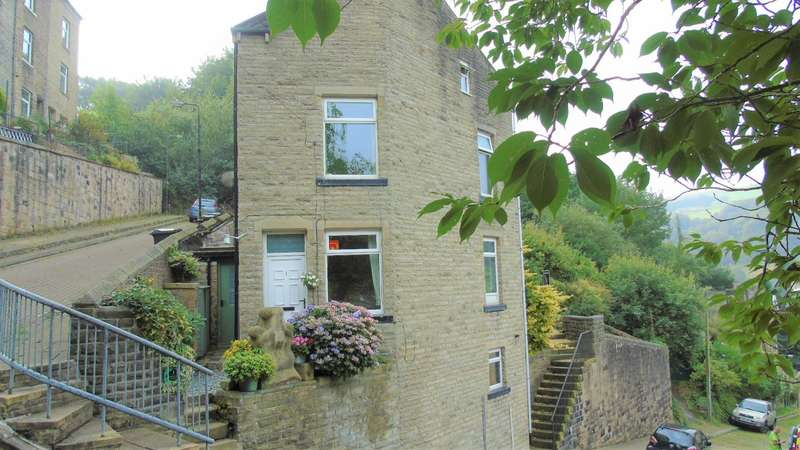 2 Bedrooms End Of Terrace House for sale in Marlborough Grove, Hebden Bridge, HX7