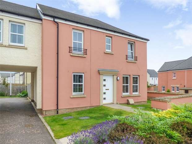 4 Bedrooms End Of Terrace House for sale in Queen Elizabeth Drive, Galashiels, Scottish Borders