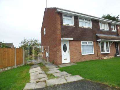 3 Bedrooms Semi Detached House for sale in Peebles Close, Kirkby, Liverpool, Merseyside, L33