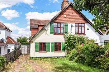 3 Bedrooms Semi Detached House for sale in Maidstone Road, Sidcup, Kent, DA14 5AN
