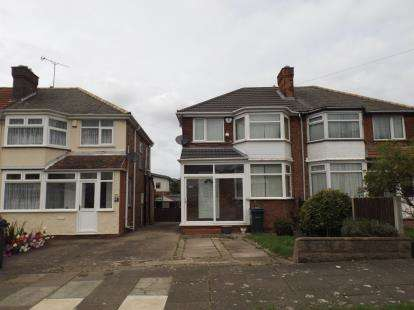 3 Bedrooms Semi Detached House for sale in Fairholme Road, Hodge Hill, Brmingham, West Midlands
