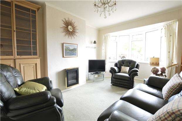 2 Bedrooms Semi Detached Bungalow for sale in Park Way, HASTINGS, East Sussex, TN34 2PJ