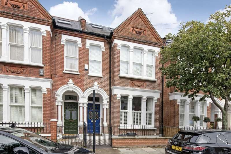 5 Bedrooms Terraced House for sale in Manchuria Road, Battersea, London