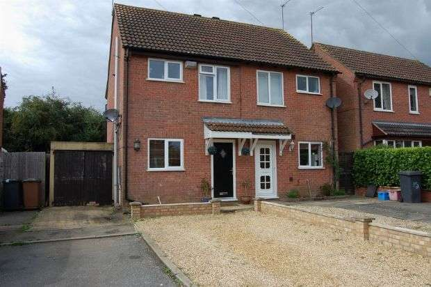 2 Bedrooms Semi Detached House for sale in Charles Close, Long Buckby, Northampton NN6 7YT