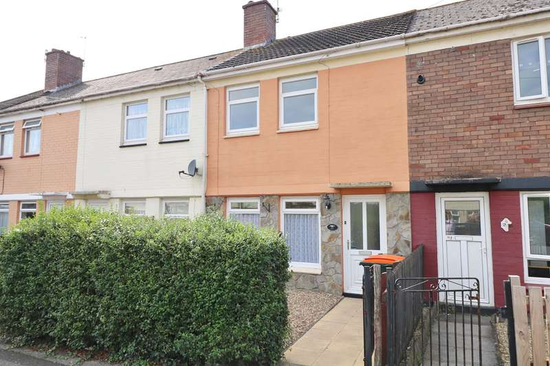 2 Bedrooms Terraced House for sale in Hampden Road, Newport, NP19