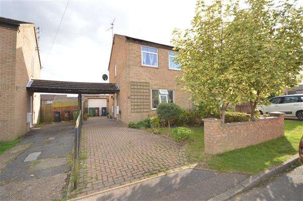 3 Bedrooms Semi Detached House for sale in LARCH ROAD, CORBY