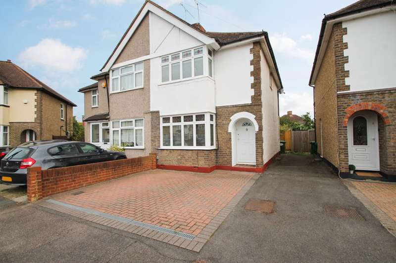 3 Bedrooms Semi Detached House for sale in Sydney Crescent, Ashford, TW15