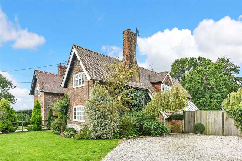 4 Bedrooms Semi Detached House for sale in Priory Farm Cottage, Priory Lane, Tortington, Arundel, West Sussex, BN18