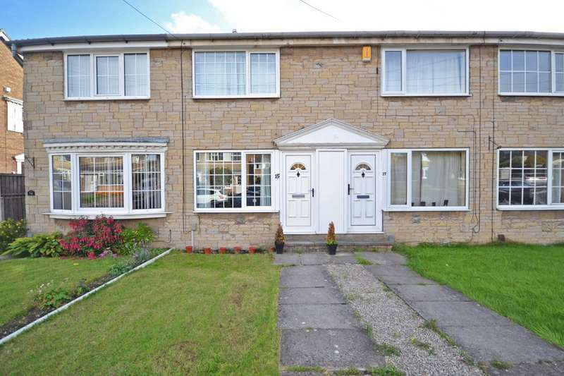 2 Bedrooms Town House for sale in Dunn Close, Wrenthorpe, Wakefield