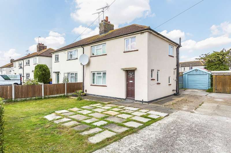 3 Bedrooms Semi Detached House for sale in Brennan Road, Tilbury
