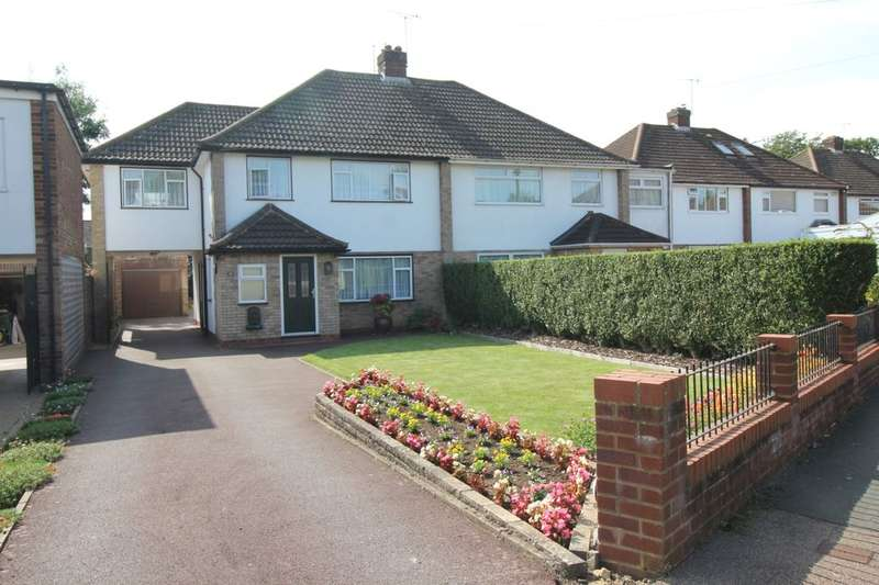 4 Bedrooms Semi Detached House for sale in Tile Kiln Crescent, Leverstock Green, Hemel Hempstead, HP3