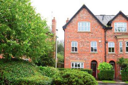 3 Bedrooms End Of Terrace House for sale in Russet Way, Alderley Edge, Cheshire