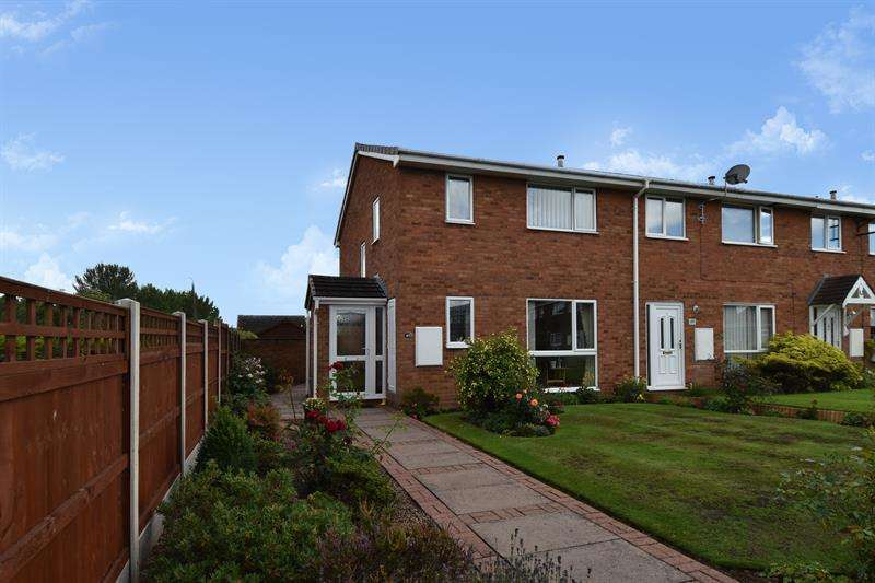 3 Bedrooms End Of Terrace House for sale in Buckfast Close, Bromsgrove