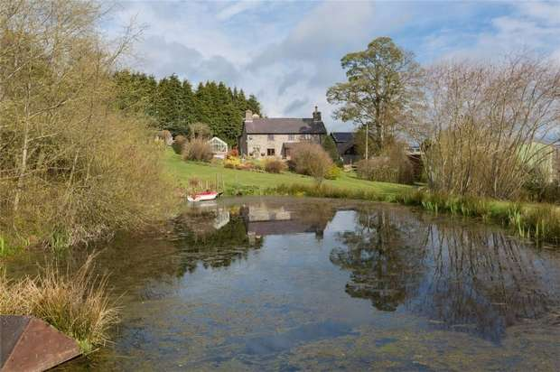 4 Bedrooms Country House Character Property for sale in Ale Oak Grange, Newcastle-on-Clun, Shropshire