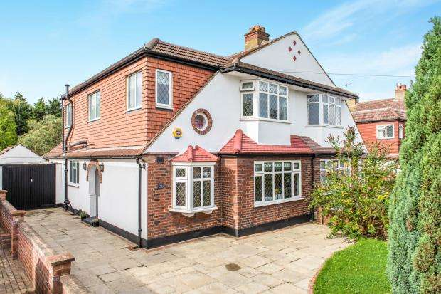 4 Bedrooms Semi Detached House for sale in Cheam, Sutton, England