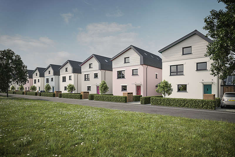 5 Bedrooms Detached House for sale in Roborough Park Eco Village, Plymouth
