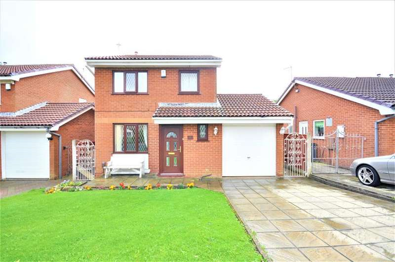3 Bedrooms Detached House for sale in Bexley Avenue, North Shore, Blackpool, Lancashire, FY2 0TE
