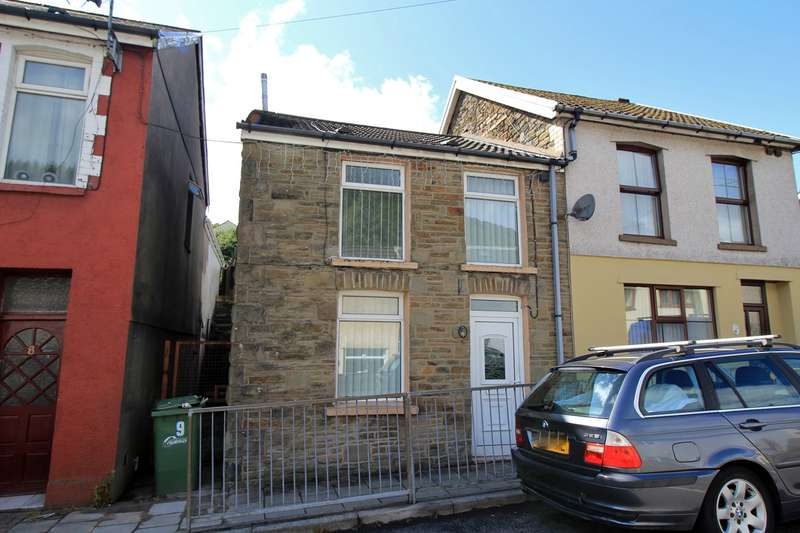 2 Bedrooms Semi Detached House for sale in Bailey Street, Deri, Bargoed, CF81