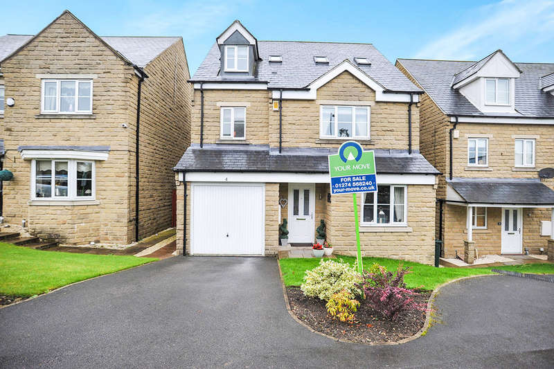 5 Bedrooms Detached House for sale in Birkshead Drive, Wilsden, Bradford, BD15