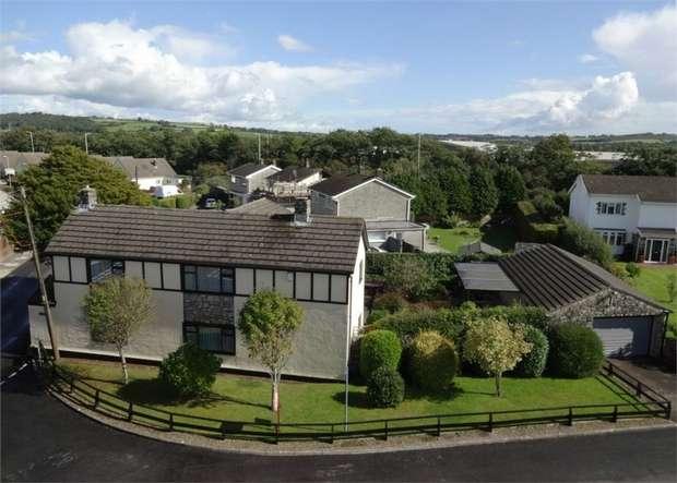 4 Bedrooms Detached House for sale in Treoes Road, Coychurch, Bridgend, Mid Glamorgan