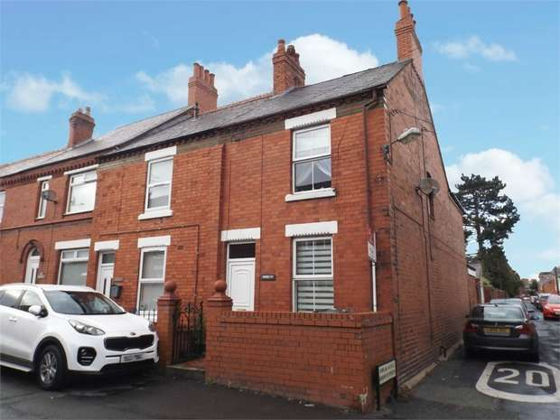 3 Bedrooms End Of Terrace House for sale in Princes Road, Rhosllanerchrugog, Wrexham