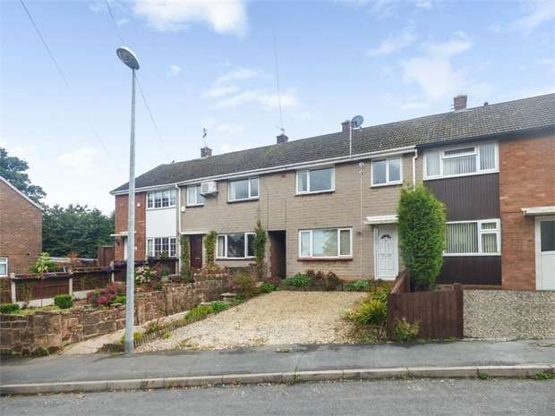 3 Bedrooms Terraced House for sale in Springhill Crescent, Madeley, Telford, Shropshire