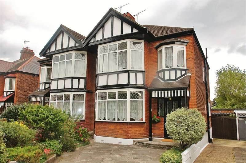 4 Bedrooms Semi Detached House for sale in Hermon Hill, SOUTH WOODFORD, E18
