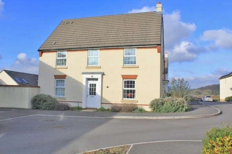 4 Bedrooms Semi Detached House for sale in Lower Trindle Close, Chudleigh