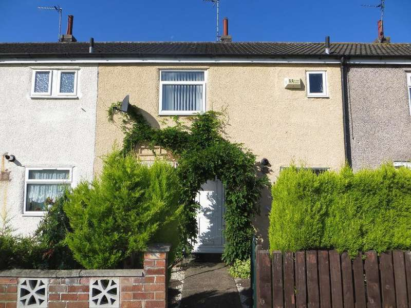 2 Bedrooms Terraced House for sale in Orniscourt, Orchard Park, Hull, East Riding of Yorkshire, HU6 9TG