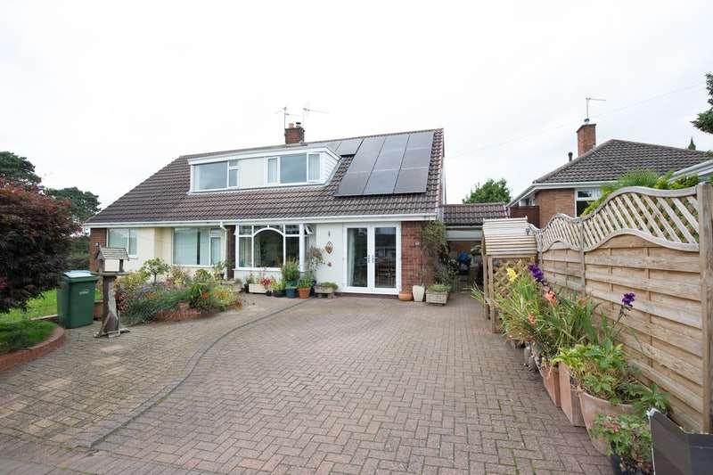 2 Bedrooms Semi Detached House for sale in Chestnut Close, Stourbridge, West Midlands, DY8
