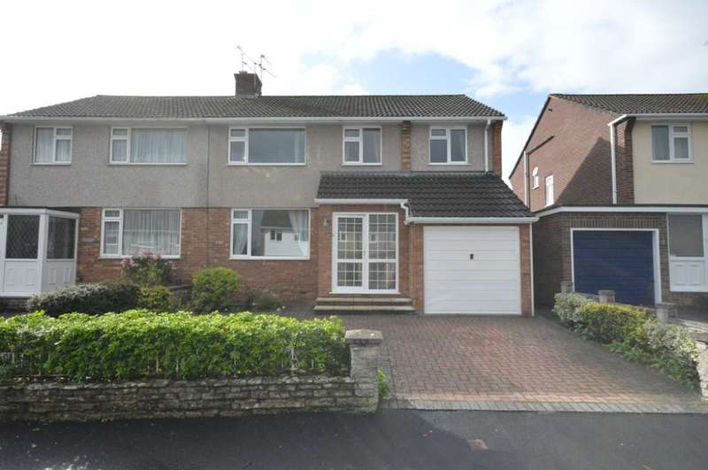 4 Bedrooms Semi Detached House for sale in Windrush Road, Keynsham, BS31