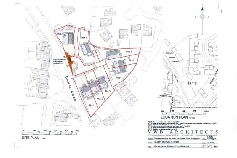 4 Bedrooms Semi Detached House for sale in Development At Moss Close Canal Road, Congleton, CW12