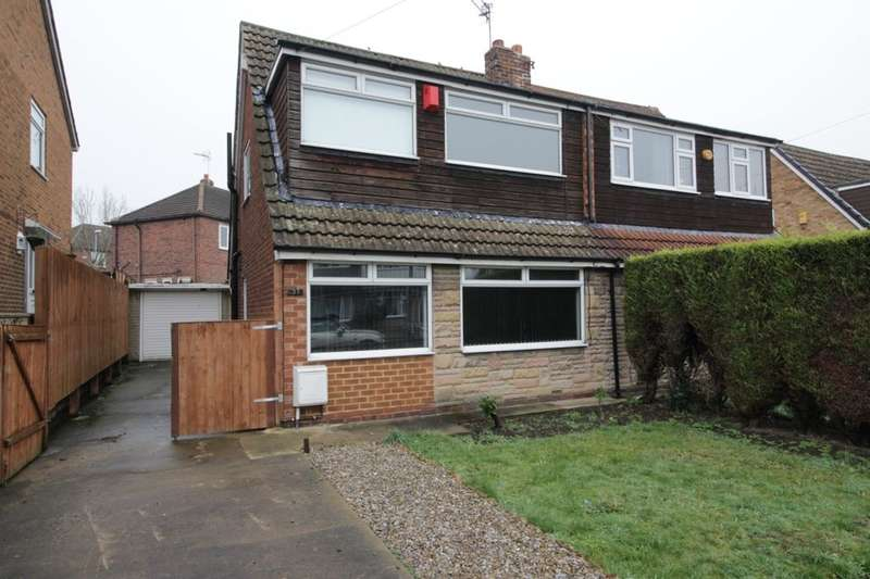 3 Bedrooms Semi Detached House for sale in Goodwood Avenue, Kippax, Leeds, LS25