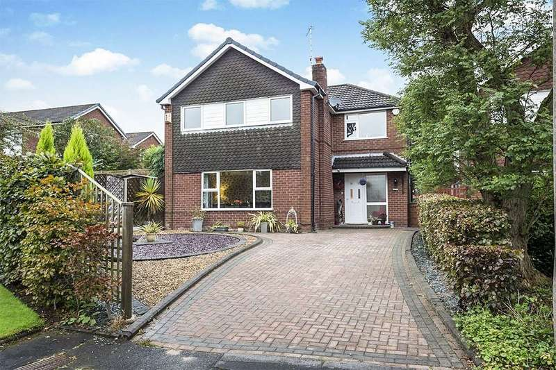 4 Bedrooms Detached House for sale in Coniston Way, Macclesfield, SK11
