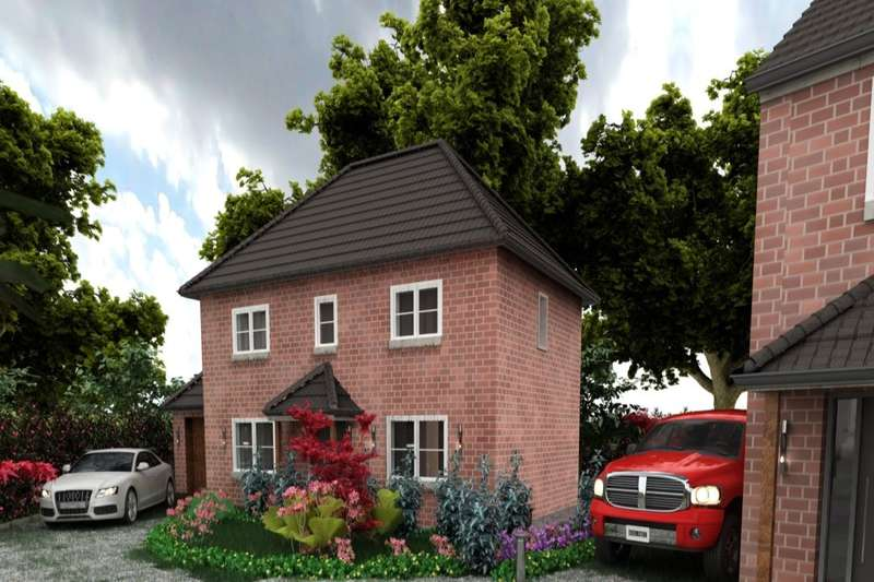 3 Bedrooms Detached House for sale in Redbrick Place Station Road, Madeley, Crewe, CW3