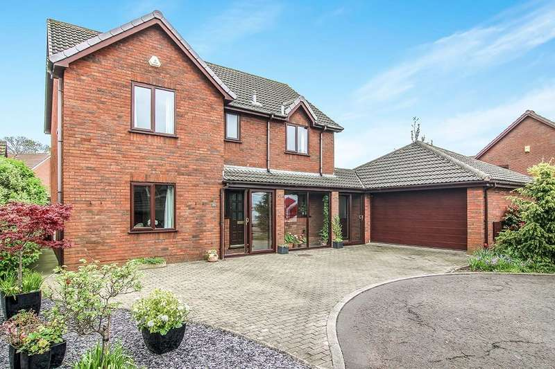 4 Bedrooms Detached House for sale in Bowland View, Cabus, Preston, PR3