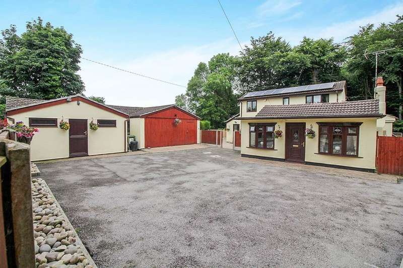 4 Bedrooms Detached House for sale in St. Asaph Road, Lloc, Holywell, CH8