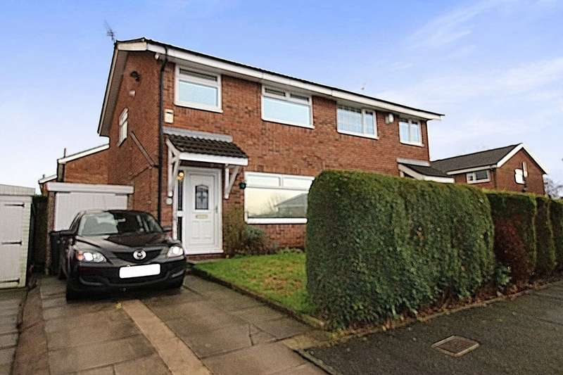 3 Bedrooms Semi Detached House for sale in Westbury Drive, Marple, Stockport, SK6